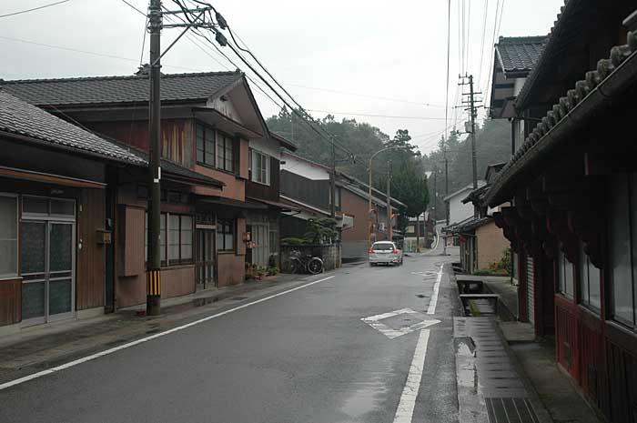 松野町吉野の町並み